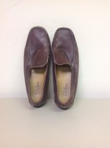 Cole Haan Men's Brown Slip On Size 8.5 Leather Shoes - $41.14