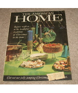 American Home Magazine Dec. 1960 Christmas - $17.95