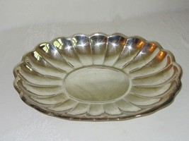 Reed & Barton Vtg Large Oval Tray Dish Platter Silverplate EPNS 110 - $29.69