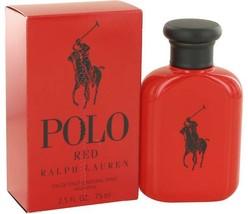 Ralph Lauren Polo Red Cologne 2.5 Oz Eau De Toilette Spray image 2
