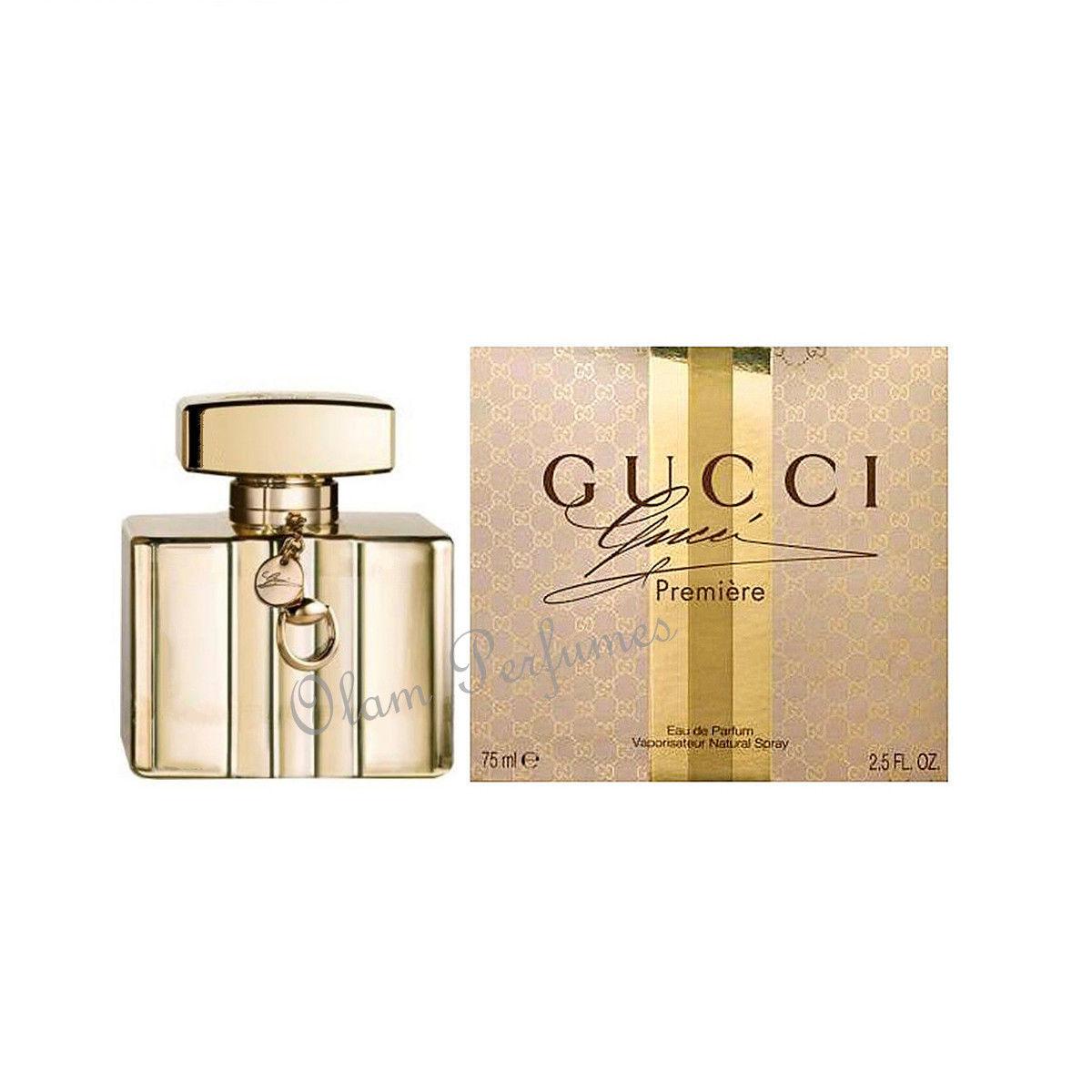 9e2d912f0 Gucci Premiere For Women Eau de Parfum Spray 2.5oz 75ml * New in Box Sealed  *