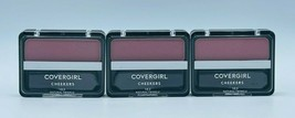3x Covergirl 183 NATURAL TWINKLE Cheekers Blush New Factory Sealed Free ... - $16.99