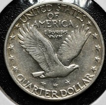 1929S Standing Liberty Silver 25¢ Quarter Coin Lot A 619 image 2