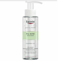 200ML Eucerin Pro Acne Solution Cleansing Gel Daily Facial Wash Fast Shipping - $48.90