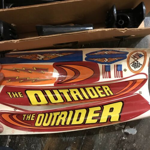 Vintage 1978 Kenner Outrider Stunt Board Riding Toy