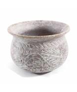 Soapstone Decorative Smudging Bowl Pot Incense Resin Burner India Handmade - $39.36
