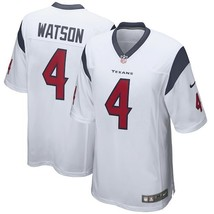 Youth Houston Texans #4 Deshaun Watson White Game Limited Stitched Jersey - $54.99