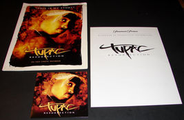 2003 TUPAC RESURRECTION Movie PRESS KIT Folder, CD, Production Notes - $22.24