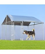 7.5' x 7.5' Large Pet Dog Run House Kennel Shade Cage - $93.99 - $544.99