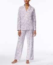 Charter Club Snow Flake Printed Fleece Pajama Set, XXXL - €23,61 EUR