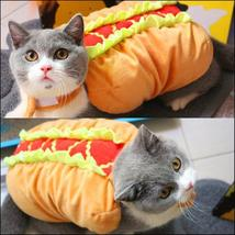 Cute Hotdog Cat Costume - $25.00