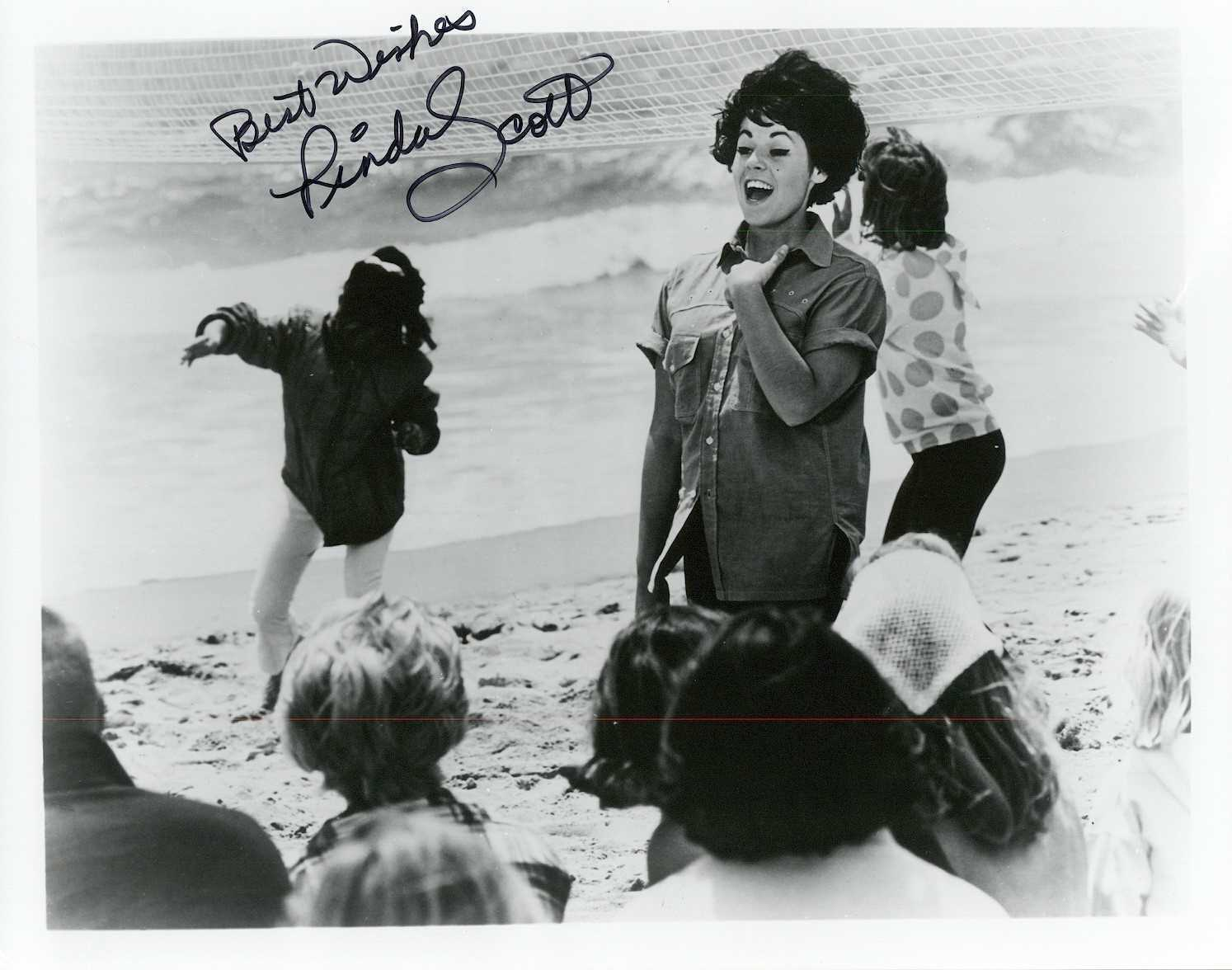 Primary image for Linda Scott Signed Autographed Vintage Glossy 8x10 Photo