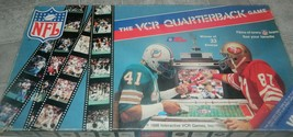 NFL Films The VCR Quarterback Game Football Dolphins 49ers 1986 -Complete - $14.00