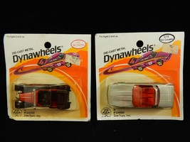 Zee Toys 1983 Die Cast Metal Dynawheels 41 Vauxhall & 84 Corvette SEALED - $32.71