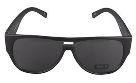 NEW Quay Eyeware Australia 1485 Matte Black Smoke Gray Lens 100% UV Sunglasses image 2