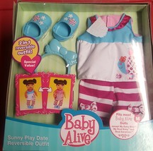 BABY ALIVE OUTFIT Sunny Play Date RARE NEW IN BOX - $59.99