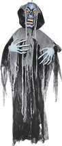 Ghoul Prop Animated Hanging Light-Up 6' Skeleton Halloween Haunted House... - £41.54 GBP