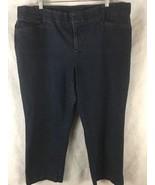 "CJ Banks Signature Comfort Denim Blue Jeans Size 20W Petite Inseam 26.5"" - $13.81"