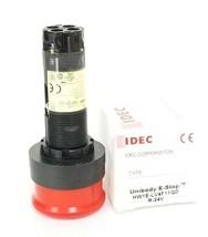 NIB IDEC HW1E-LV UNIBODY E-STOP RED PUSHBUTTON HW1E-LV4F11QD R-24V