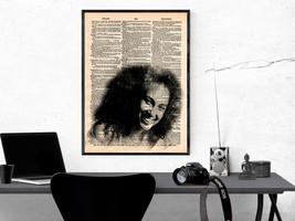 Music Art Print-Alicia Keys Art Print-Music Prints-Vintage-Home Decor-Ro... - $11.82