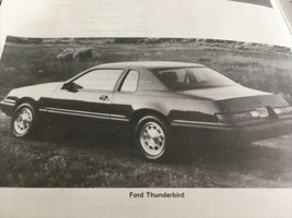 Ford Thunderbird Mercury Cougar 1983-1988 Haynes Repair Manual 1338 - $17.75