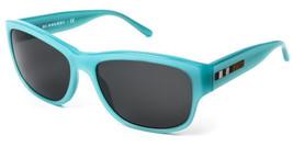 Burberry Sunglasses Women's BE4134 337587 56MM Light Blue Gradient Recta... - $97.02