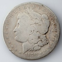 1878-CC $1 Silver Morgan Dollar in AG Condition, Clear Date & Mint Mark - $84.14