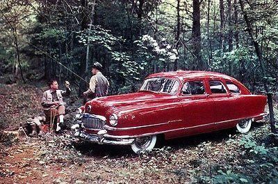 Primary image for 1951 Nash Ambassador Airflyte - Promotional Advertising Poster