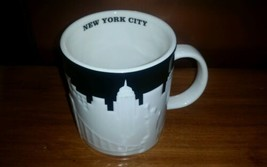 Starbucks Collectible Taxi Cab New York City Relief 16 Fl Oz Mug New Fas... - $39.63
