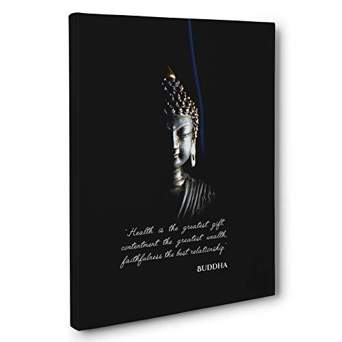 Primary image for Buddha Motivational Quote Canvas Wall Art