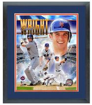 "11"" x 14"" Framed & Matted David Wright New York Mets - ""Portrait Pluses ... - $42.95"