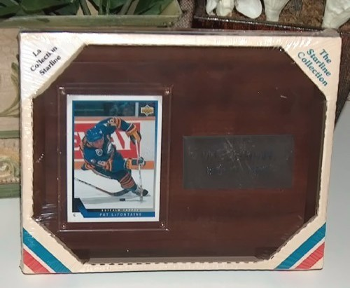 Starline Pat LaFontaine Buffalo Sabres Hockey Plaque
