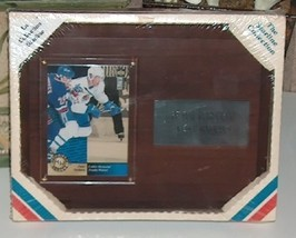 Starline Peter Forsberg Quebec Nordiques Hockey Plaque image 1