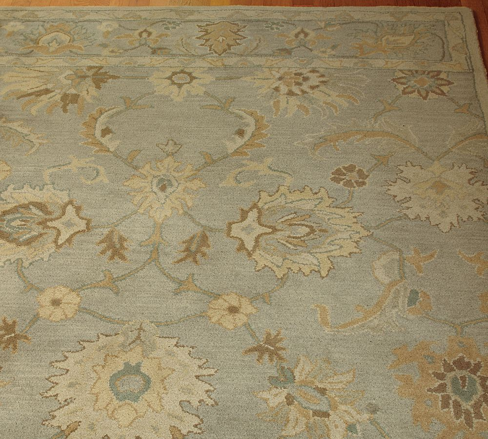 Brand New Pottery Barn Handmade Persian Style GABRIELLE  Area Rug 8x10