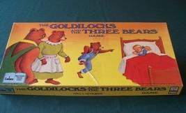 Goldilocks And The Three Bears Game Cadaco 1989 Complete image 1