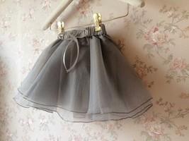 Baby GIRL Skirt Flower Girl Tutu Skirt Peach Toddler Tulle Skirt Baby Shower NWT image 6
