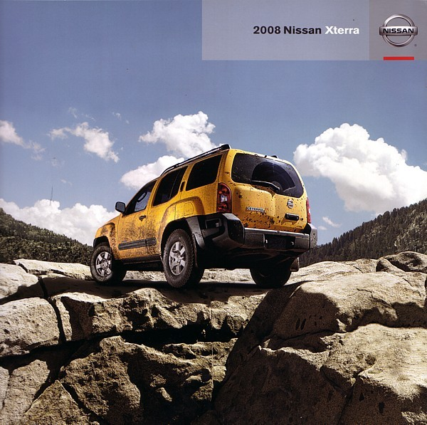 2008 Nissan XTERRA sales brochure catalog US 08 Off Road