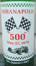 7 UP Indianapolis 500 Souvenir Bottle Race Car Flags Winners May 1979 Vintage image 3