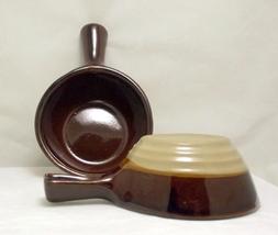 Western stoneware handled soup bowls 3 thumb200