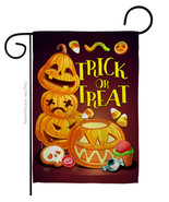 Spooky Sweet - Impressions Decorative Garden Flag G162088-BO - $19.97