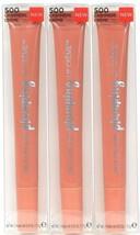 3 Revlon Kiss 0.25 Oz Plumping 500 Cashmere Multi Benefit Demi Shine Lip Creme - $18.99