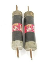LOT OF 2 BUSSMANN FUSETRON FRS 150 DUAL-ELEMENT TIME-DELAY FUSES FRS150, 150A