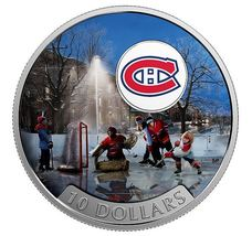 Passion to Play: Montreal Canadiens - 1/2 oz Pure Silver Coin - $110.00