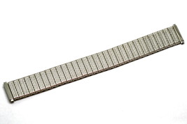 16-21mm Short Silver Stainless Steel Twist O Flex Expansion Watch Band Strap - $19.79