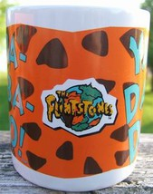 The Flinstones Yabba Dabba Doo Ceramic Collectors Mug Cup Dakin Original Box image 2
