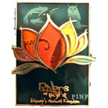 Disney Pin WDW 120773 Rivers of Light Stained Glass Animal Kingdom Attra... - $28.17