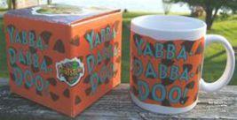 The Flinstones Yabba Dabba Doo Ceramic Collectors Mug Cup Dakin Original Box image 5