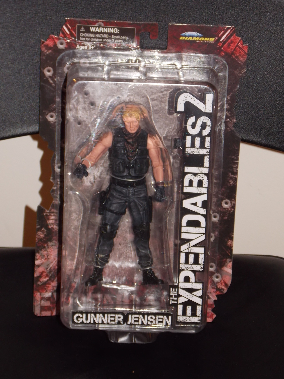 The Expendables 2 Gunner Jensen Figure New In The Package Dolph Lundgren