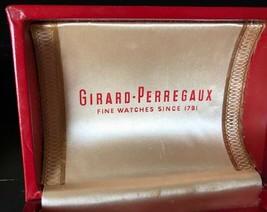RARE VINTAGE GIRARD-PERREGAUX WATCH BOX - 1960s - $116.88