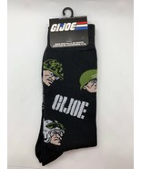 Hasbro GI Joe Army Helmet Black Socks Size 6-12 Men's Crew New Tags - $11.88